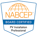 NABCEP Board Certified PV Installation Professional